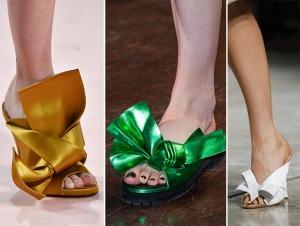 весна лето 2015 банты в обуви