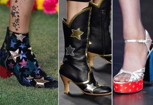 весна лето 2015 звезды в обуви