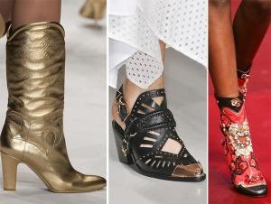 весна лето 2015 ковбойский стиль в обуви