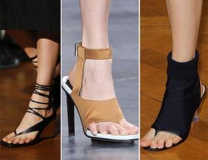 весна лето 2015 сандали и слацы на каблуке
