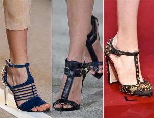 весна лето 2015 т образные ремешки в обуви