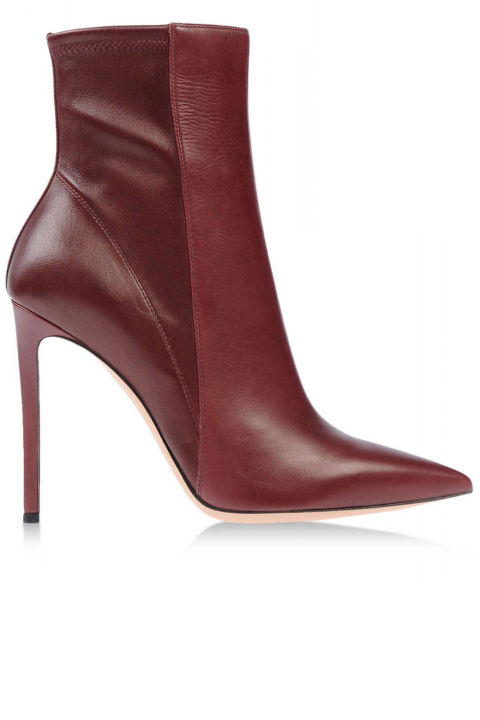 модный цвет обуви марсала
