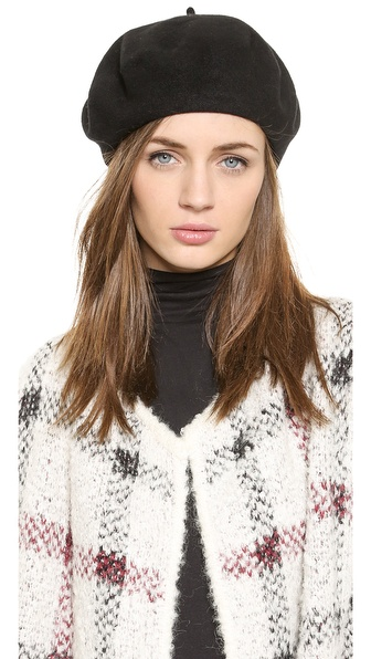 Модные и красивые женские береты 2015