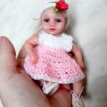 Реалистичные миниатюры: куклы — дети