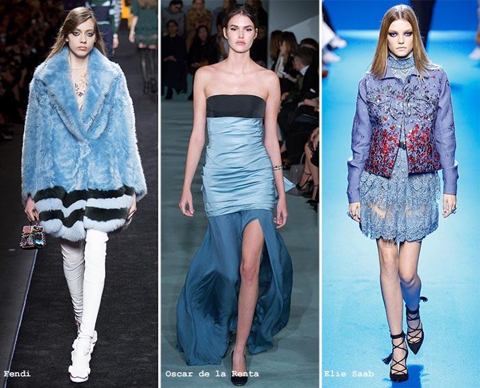 воздушно-голубой модный цвет 2017