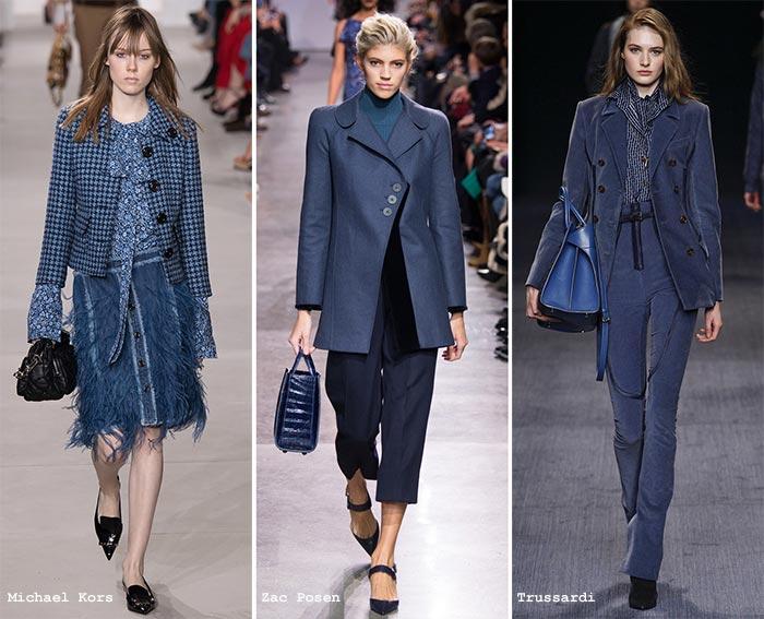 речной синий цвет мода 2017