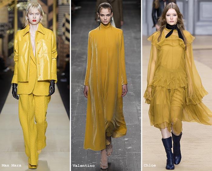 пряный горчичный модный цвет 2016 2017