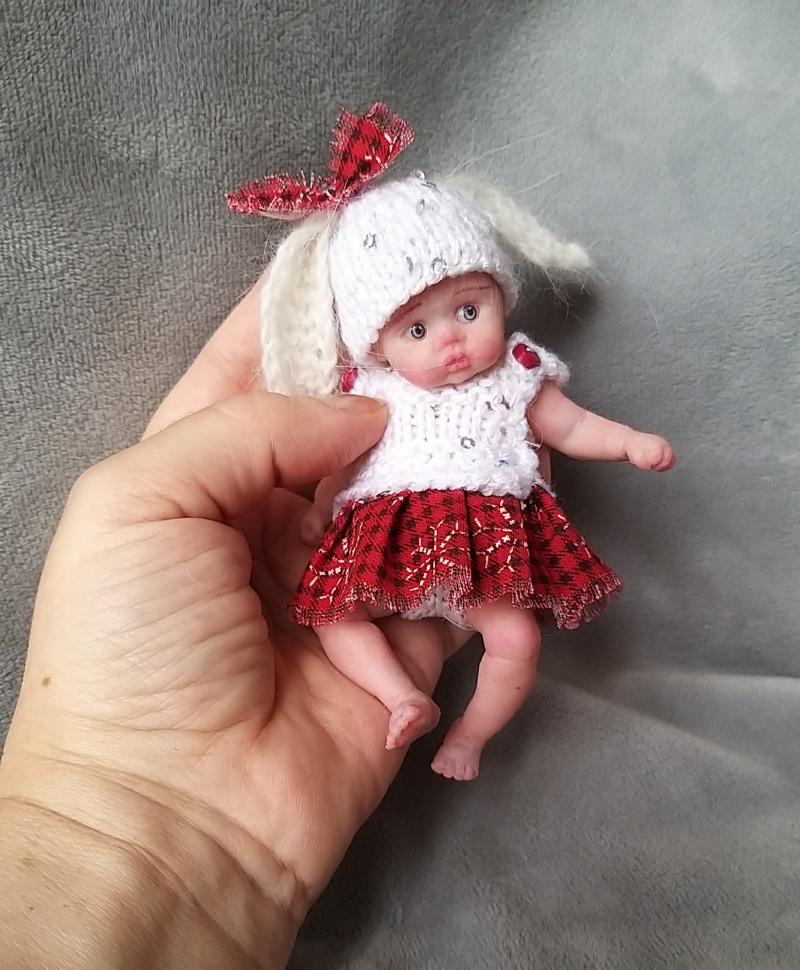 авторская кукла миниатюра